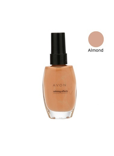 Avon Calming Effects Fondöten Almond 30 Ml Renkli